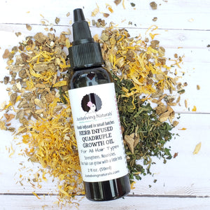 Herb Infused Quadruple Growth Oil