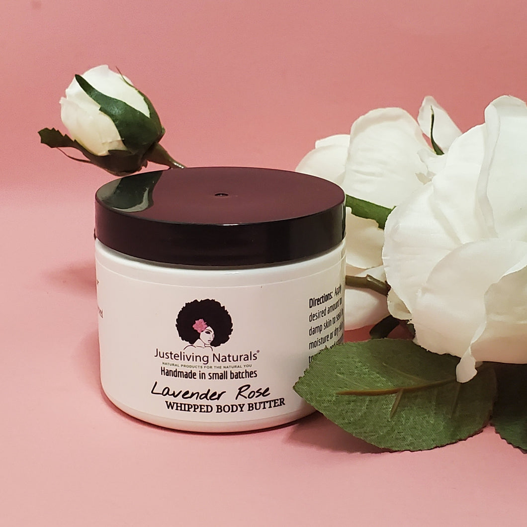 Lavender Rose Whipped Body Butter
