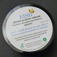 Load image into Gallery viewer, KING Beard & Body Cream