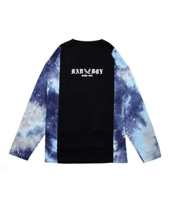 BAD BOY TIEDYE DOCKING LONG SLEEVE TEE / 9855