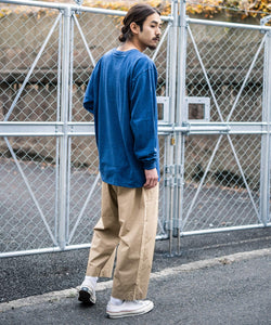KAFIKA 日本製 6.5oz DENIM・WEATHER CLOTH DECK PANTS / 9399