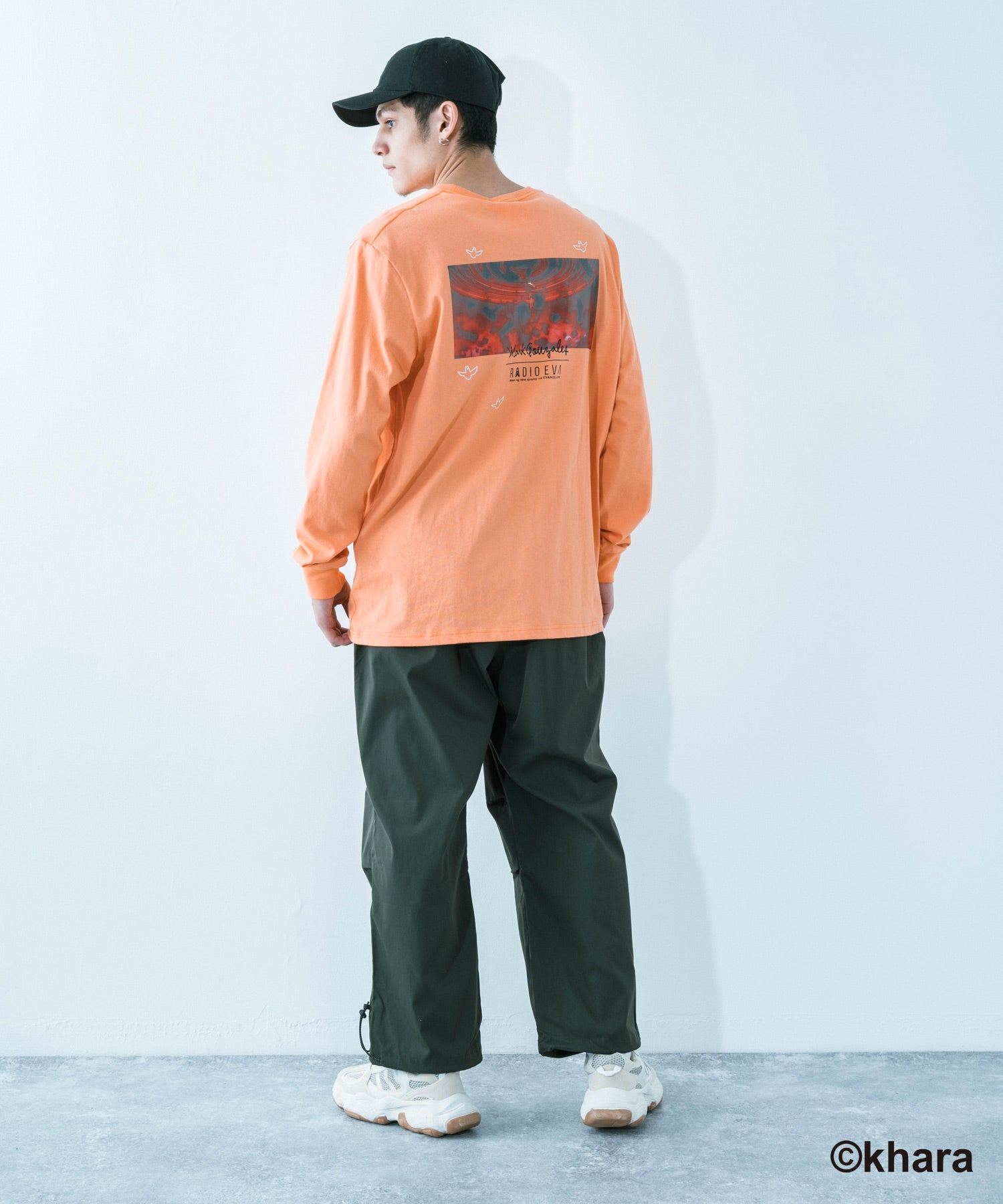 【Mark Gonzales】×【エヴァンゲリオン 3rd Impacts】 プリント L/S TEE / 9681