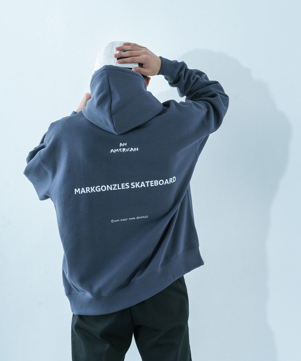 RESSACA MARK GONZALES SkatersプリントBIG HOODIE / 9738
