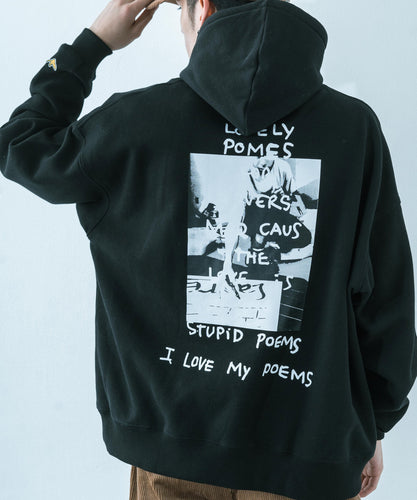 RESSACA MARK GONZALES Drawing PhotoプリントBIG HOODIE / 9739