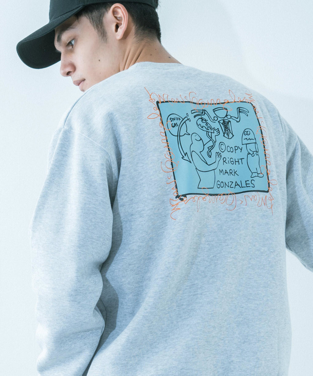 RESSACA MARK GONZALES Sniff Gasプリント SWEATSHIRT / 9741