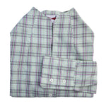 'Stephanie' Shirt - Green/Cream/Pink Check