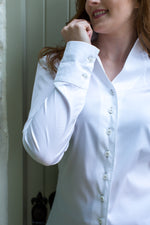 U&W | Ladies Shooting Shirt - Classic White
