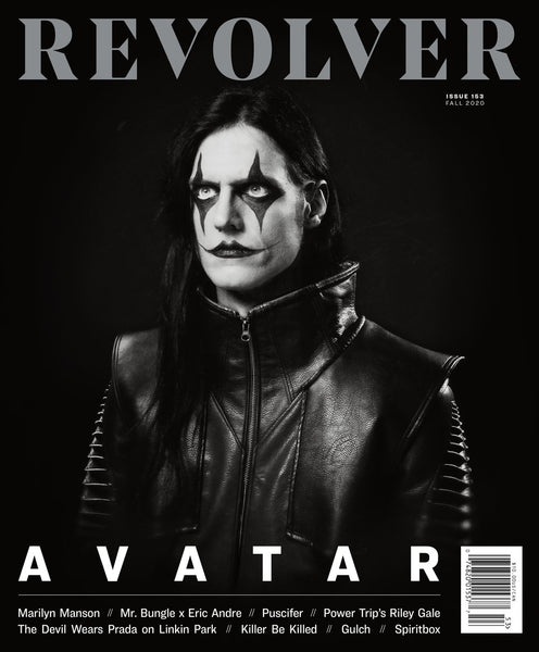 Avatar's Johannes Eckerström Team up with Revolver Magazine for Fall 2020 cover
