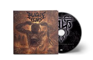 "Plague Years - ""Circle of Darkness"" Shirt 02 + CD Bundle (Pre-Order)"