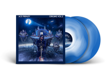 Load image into Gallery viewer, Ace Frehley Origins Vol. 2 Blue White Vinyl LP