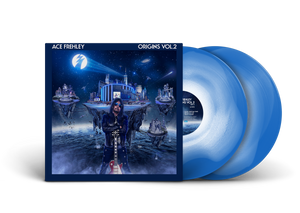 "Ace Frehley - ""Origins Vol. 2"" Blue/White Color in Color"