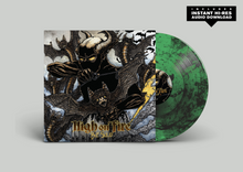 "Load image into Gallery viewer, Pre-Order: High On Fire - ""Bat Salad"" Smog w/Green Vinyl"