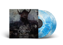 "Load image into Gallery viewer, Black Crown Initiate - ""Selves We Cannot Forgive"" Sky Blue w. Black Swirl Vinyl"