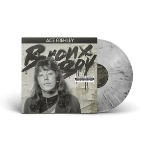 "Ace Frehley - ""Bronx Boy"" Black And White Marble Vinyl LP"
