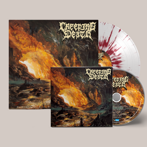 Creeping Death - Wretched Illusions Blood Red LP x CD Bundle