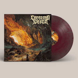 "Creeping Death - ""Wretched Illusions"" Grape Galaxy LP"