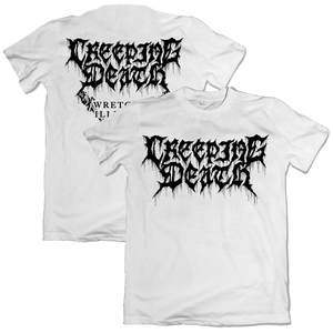 "Creeping Death - ""Paint Drip White"" Shirt"