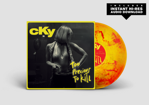 "CKY - ""Too Precious To Kill"" Yellow/Red Vinyl"