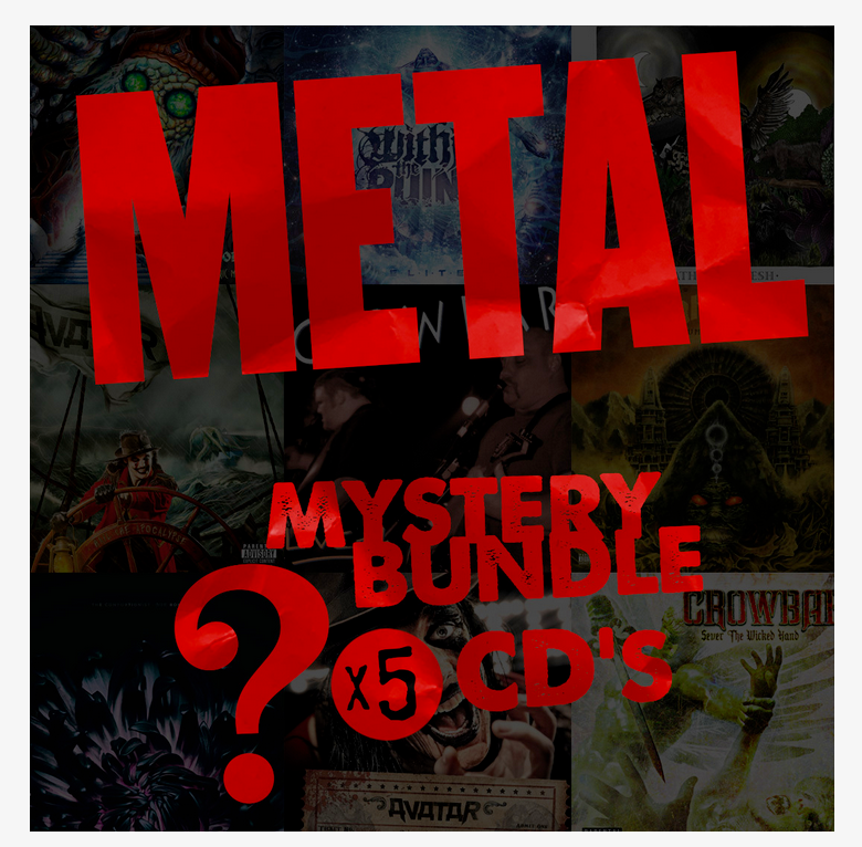 Metal Mystery CD Bundle - Free Shipping!
