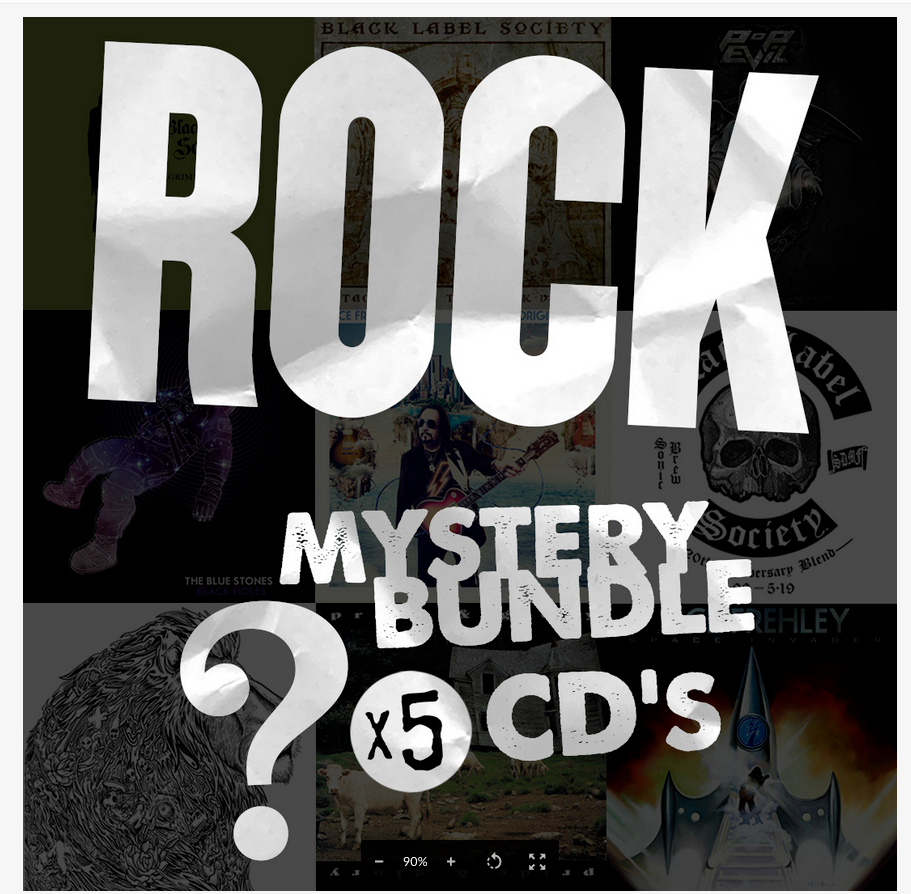 Rock Mystery CD Bundle - Free Shipping!