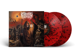 "Enterprise Earth - ""Luciferous"" Red w/ Black Splatter Vinyl LP"