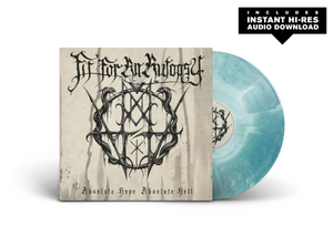 "Fit For An Autopsy - ""Absolute Hope Absolute Hell"" - Starburst - White + Teal Vinyl LP"