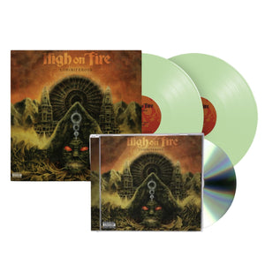 High On Fire Luminiferous Glow in the Dark Vinyl CD Bundle