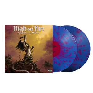 High On Fire Snakes for the Divine purple splatter vinyl