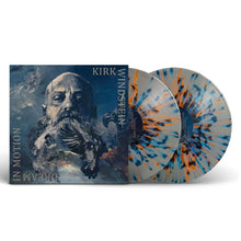 "Load image into Gallery viewer, Kirk Windstein - ""Dream In Motion"" Clear w/ Orange, Blue Splatter Vinyl"