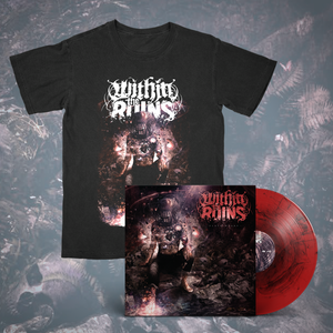 Within The Ruins – Black Heart LP + Shirt Bundle (Pre-Order)