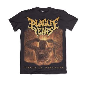 "Plague Years - ""Circle of Darkness"" Shirt 01 (Pre-Order)"