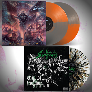 "Sodom ""Genesis XIX"" + ""Out of the Frontline Trench"" LP Bundle (Pre-Order)"