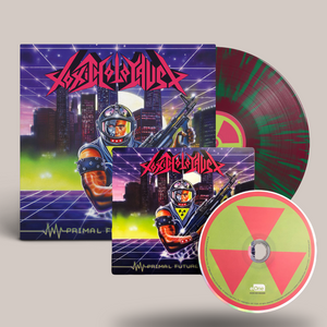 Toxic Holocaust - Primal Future: 2019 Purple/Green LP x CD Bundle