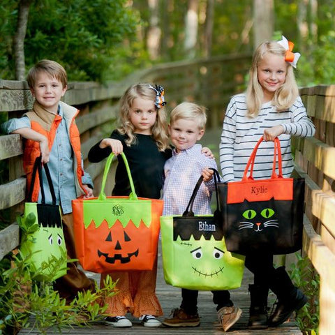Personalized Trick-or-Treat Tote Bag