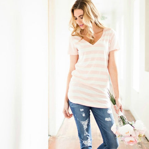 Montauk Blush T-Shirt