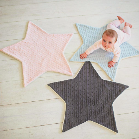 Star Cable Blanket