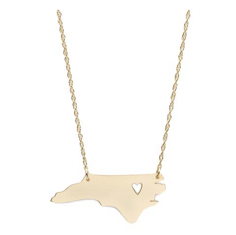State Heart Necklace