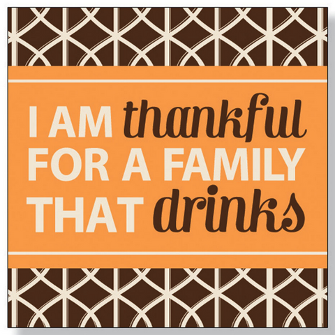 Thankful Beverage Napkins