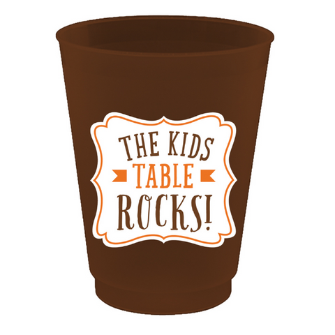 Kids Table Rocks Frost Flex Cup Set