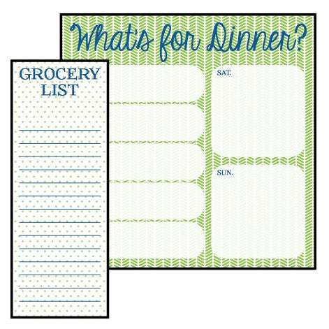 What's for Dinner notepad set