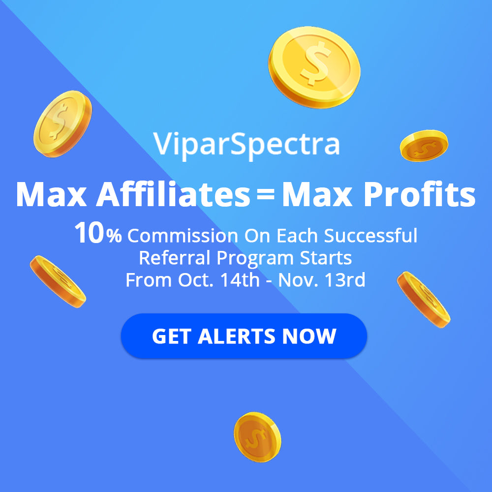 Join ViparSpectra Affiliate - Earn Up to 10% Commission!