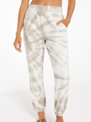 neutral tie dye joggers matching set z supply