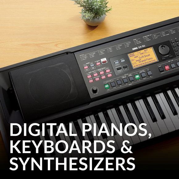 Digital Pianos, Keyboards & Synthesizers