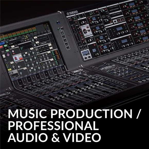 Music Production/ Professional Audio & Video