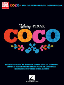 Disney-Pixar-Coco-for-Easy-Guitar-with-Notes-Tab