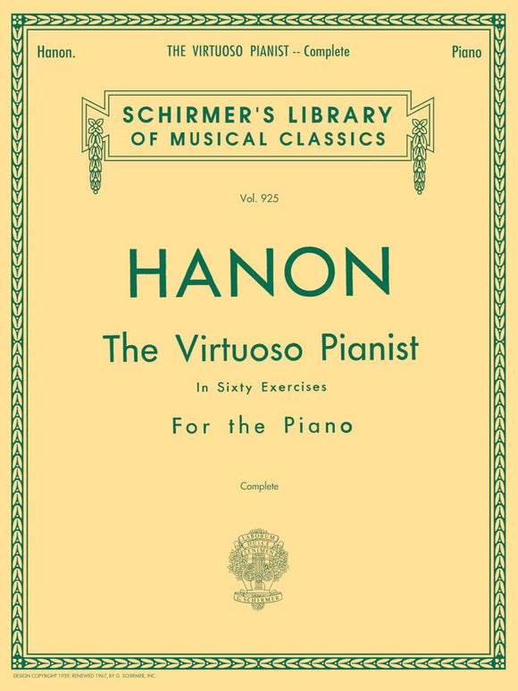 Hanon – Virtuoso Pianist in 60 Exercises – Complete
