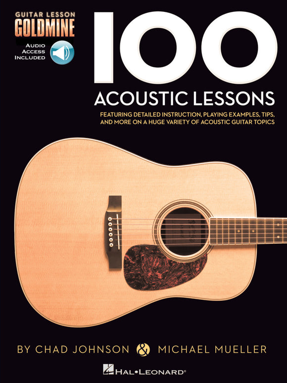 100-Acoustic-Lessons Guitar-Lesson-Goldmine-Series