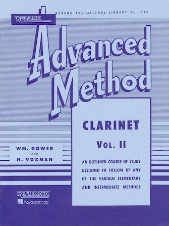 Rubank-Advanced-Method-Clarinet-Vol-2