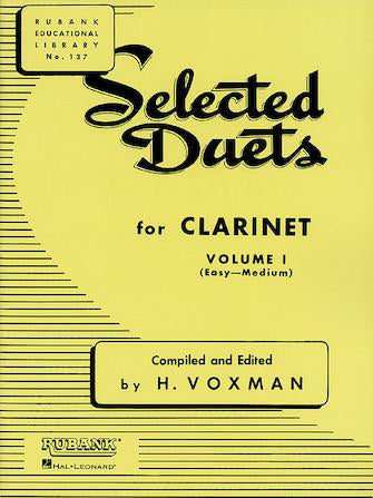 Selected-Duets-for-Clarinet-Volume-1-Easy-to-Medium