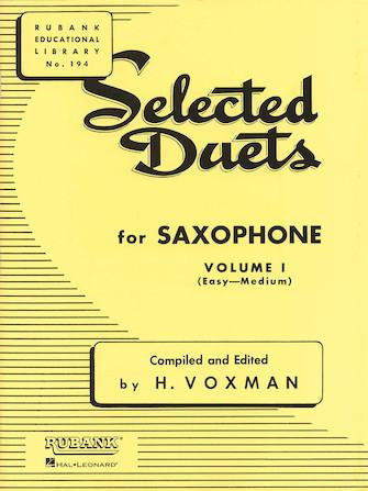 Selected-Duets-for-Saxophone-Volume-1-Easy-to-Medium